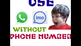 How to use WhatsApp without number in tamil