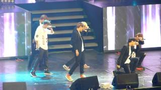 [Jimin Focus] BTS -  I Need U Live in Chile 150802