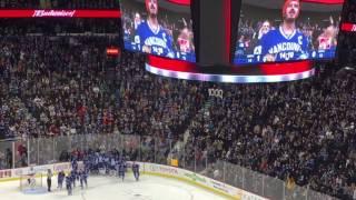 Henrik Sedin celebrates 1,000 career points (Vancouver Canucks)