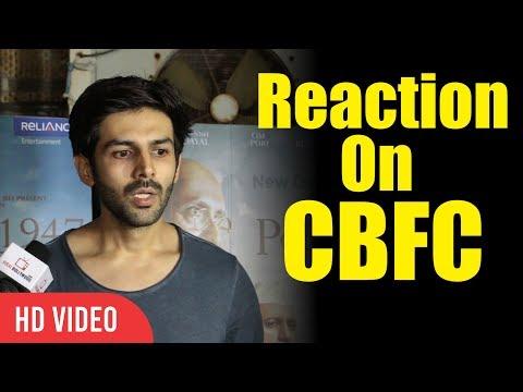 Kartik Aaryan Reaction On New CBFC Chairman Prasoon Joshi | Partition 1947 Special Screening