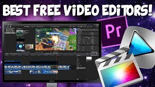 How To Download FREE Video Editing Software (Best FREE Software 2018)