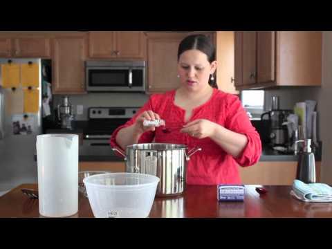 How to make Homemade Hand soap (Video Tutorial)