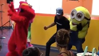 Chance the Rapper Dances with Elmo for His Daughter