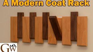 A Modern Coat Rack