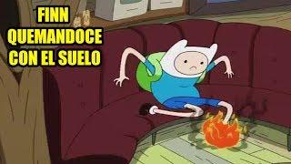 El Reto De El Suelo Es Lava En Hora De Aventura (The Floor Is Lava)