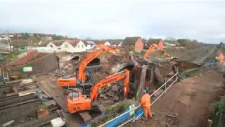 Time-Lapse - Huggets Bridge Replacement