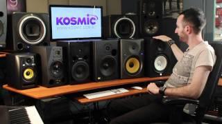 Studio Monitor Speaker Comparison