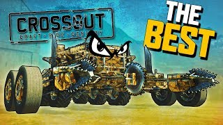 The BEST VEHICLE & Weapon in Crossout! (Crossout Open Beta Gameplay Part 3)