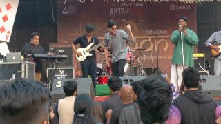 Pakshee band at Antaragni (IITK) 2017