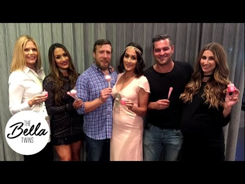 Brie and Daniel Bryan s gender reveal party Boy or Girl Exclusive look back on the celebration