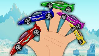 Sports Car Finger Family | Songs For Kids