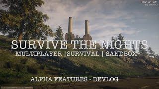 Survive the Nights - Alpha Features (Showcase | Devlog)