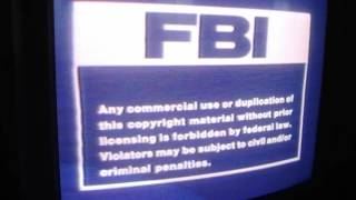 1985 Family Home Entertainment logo With FBI Screen