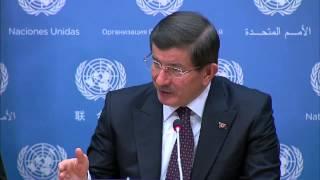 رئيس وزراء تركيا: مصر هي العامود الفقري للأستقرار في المنطقة (مترجم للعربية)