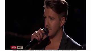 one minute for the voice 2016 billy gilman  live playoffs crying  funny voice