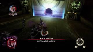 Marvel Ultimate Alliance 2 - Black Widow battle