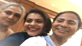Who has whiter teeth? Kajol and Mamata Banerjee's smiley selfie