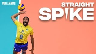 The Amazing Straight Spikes ストレートスパイク | Volleyball Maniac