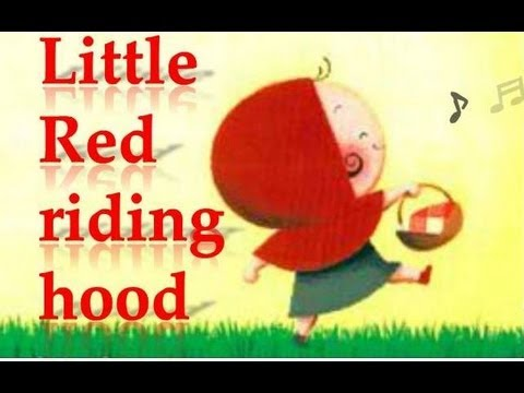 Fairy tale Little red riding hood with subtitles