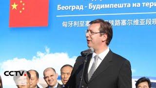Hungary-Serbia Railway: China
