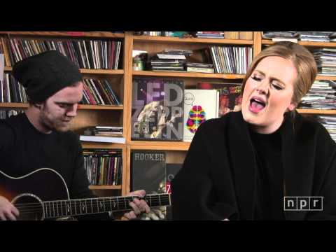 Adele NPR Music Tiny Desk Concert