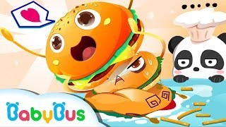 Baby Panda Magical Cook | Surprising Kitchenware | Kitchen Toys Play | BabyBus Cartoon