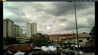UFO singgah kat Taman Dato' Harun PJ