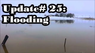 Off Grid Living: Update #25 Flooding, Forty Four Degrees, Family Fun
