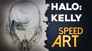 Halo SPEED ART: Spartan Kelly-087