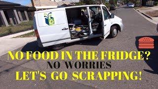 Street Scrap - No Food in the Fridge Challenge Pt 1