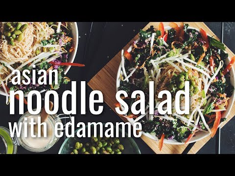 Xxx Mp4 ASIAN NOODLE SALAD WITH EDAMAME Hot For Food 3gp Sex