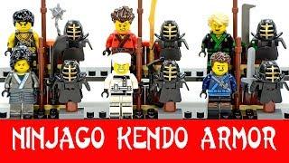 Ninjago Kendo Training Armor Unofficial LEGO Minifigures