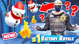 SNOWMAN Museum  ESCAPE Game Mode in Fortnite Battle Royale