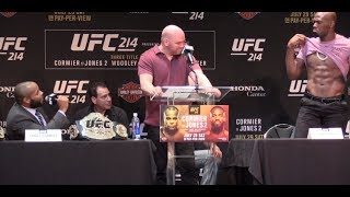 Daniel Cormier accuses Jon Jones of Using Steroids, Jones Shows Off Abs