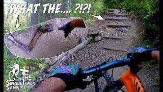 DID I TAKE A WRONG TURN? | Backcountry Mountain biking in beautiful Jackson Hole, WY