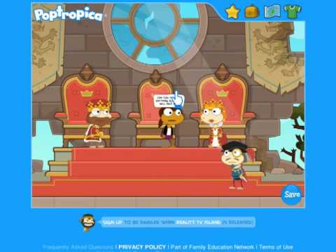 Poptropica Astro Knights Full Walkthrough and Cheats Part 1