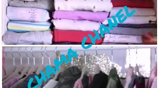 افكار ستفيدك في ترتيب الخزانة وطي الملابس ✔👈
