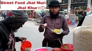 Street Food of Dhaka Jhal Muri or Spicy Mix Masala Muri Bengali Tasty Twesty Street Food in BD