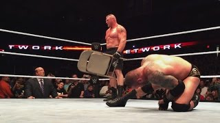 Brock Lesnar conquers a valiant Randy Orton in their SummerSlam rematch: Sept. 25, 2016