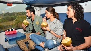 INSIDE Video: Ranbir Kapoor & Deepika Padukone's TRAIN Trip - Mumbai To Delhi - Tamasha Promotions