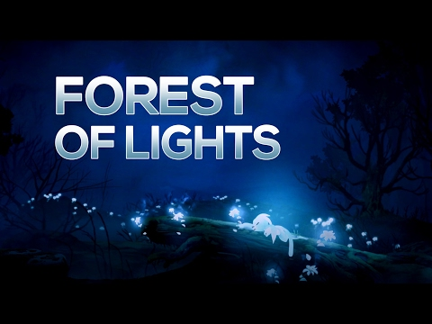 Enchanted: Forest of Lights - Ori and the Blind Forest Beautiful Game Moments #13