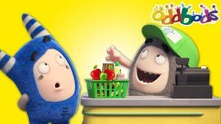 Oddbods | NEW | Supermarket | Best Cartoons For Kids