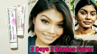 3 days 3 shades fairer | skin lite cream | skin shine cream | Review