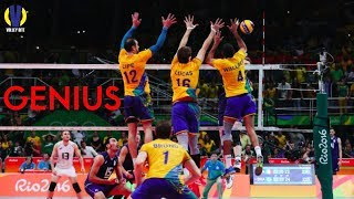 Genius Touch in Volleyball Rally