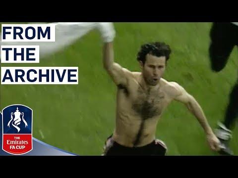 Giggs Unforgettable Solo Goal Manchester United v Arsenal FA Cup Semi Final 1999 Classics