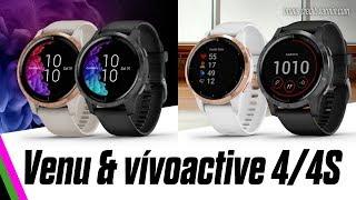 Garmin vívoactive 4/4S & Venu GPS Smartwatches Announced!
