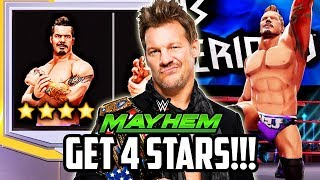 WWE MAYHEM HOW TO GET 4 STAR SUPERSTARS!!!