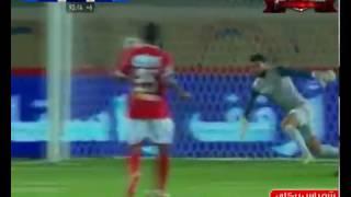 شريف إكرامي ينقذ هدف مؤكد في مباراة بتروجت والأهلي