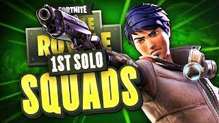 CAN I WIN SOLO SQUADS?! - Fortnite Battle Royale