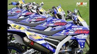 Team Yamaha Zone Rouge enduro 2019